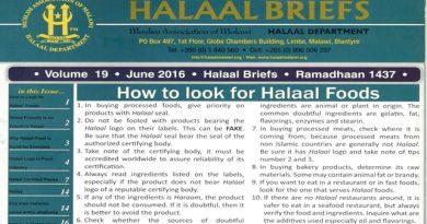 Halaal Briefs Magazine